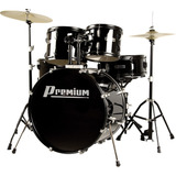 Bateria Dx722 Premium Bk Acústica Cor Preta Bumbo 22'' Pro