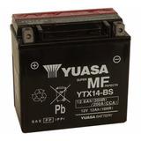 Bateria Yuasa Vt 750cd Shadow 2000 Yuasa Original Ytx14bs