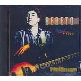 Bebeto 1995 Garra Sangue E Raça Cd Produção Roberto Menescal