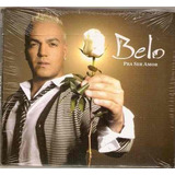 Belo Pra Ser Amor Cd Original Lacrado Sony Music