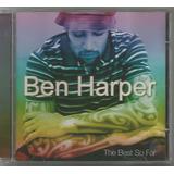 Ben Harper   The Best So Far   Cd Usado