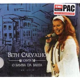 Beth Carvalho Canta O Samba Da Bahia Cd Oriignal E Lacrado