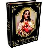 Bíblia Sagrada Católica Luxo Preta Cd Padre Marcelo Rossi