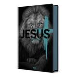Bíblia Sagrada Leão De Judá   Capa Dura Nvi   Pão Diário