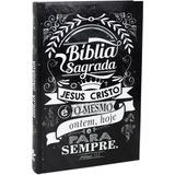 Bíblia Sagrada Lettering Ntlh Capa Dura Sbb