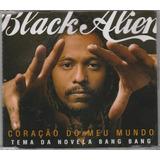 Black Alien   Cd Single Coração Do Meu Mundo   1 Música