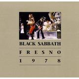 Black Sabbath Cd Duplo Fresno 1978 Novo Extremamente Raro