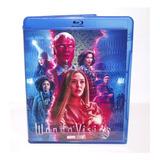 Blu-ray Série Wandavision - Missérie - Dubl-leg C/ Making Of