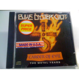 Blue Öyster Cult Career Of Evil The Metal Cd Lacrado Import