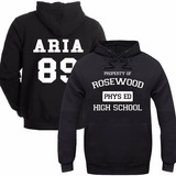 Blusa Moletom Pretty Little Liar Escolar Series Aria 89