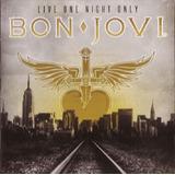 Bon Jovi Live One Night Only    Cd Rock