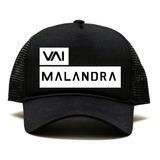 Boné Trucker Vai Malandra Anitta Mc Zaac Yuri Martins Bone