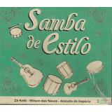 Box   Samba De Estilo   Zé Ketti   3 Cds   Lacrado