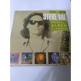 Box  Steve Vai  original Album Classics   Com 05 Cds Lacrado