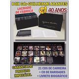 Box 21 Cds Guilherme Arantes 40 Anos   Lacrado