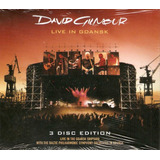Box 2cd   1 Dvd David Gilmour   Live In Gdansk   Digipack