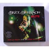 Box 3 Cds Bruce Dickinson Alive Made In Eu Lacrado Raríssimo