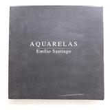 Box 3 Cds Emílio Santiago   Aquarelas   Pf