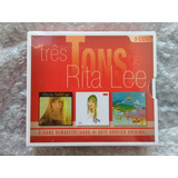 Box 3 Cds Rita Lee Build Up Tres Tons Cds Originais