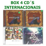 Box 4 Cd s Gospel Internacional Mercyme   Tenth Avenue North