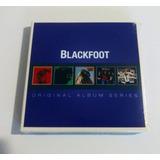 Box 5 Cd Blackfoot Original Album Strikes Marauder Tomcattin