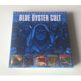 Box 5 Cd Blue Oyster Cult Original Album Agents Fire Unknown