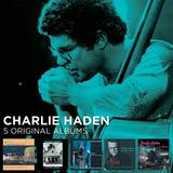 Box 5 Cd Charlie Haden   5 Original Albums   Importado