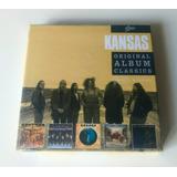 Box 5 Cd Kansas Original Album Leftoverture Point Of Know