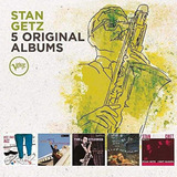 Box 5 Cd Stan Getz Vol  1   5 Original Albums   Importado