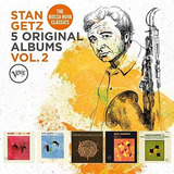 Box 5 Cd Stan Getz Vol  2   5 Original Albums   Importado