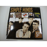 Box 5 Cds   Simple Minds   5 Album Set   Importado  Lacrado