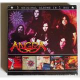 Box 5 Cds Angra   5 Original Albums Importado Lacrado Novo