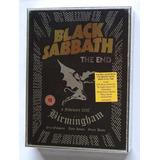 Box Black Sabbath   The End 2017 Deluxe Cd Dvd Blu Ray Novo
