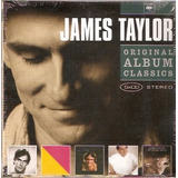 Box Cd James Taylor   Original Album Classics   Novo