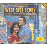 Box Cd Leonard Bernstein   West Side Story   Importado