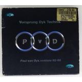 Box Cd Paul Van Dyk Remixes 92 98   Seminovo