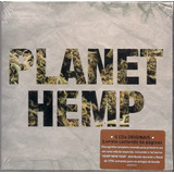 Box Cd Planet Hemp  5 Cd s livreto  Lacrado