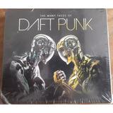 Box Cd The Many Faces Of Daft Punk   Digipack Lacrado 3 Cds