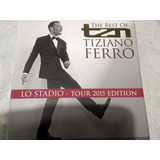 Box Cd Tiziano Ferro tour 2015 Edition