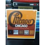 Box Chicago Original Album Series Novo Lacrado Original