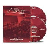 Box Dvd cd Legado40 Ato 2  Adhemar De Campos Original