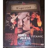 Box Dvds   Cds   Titanic   Moulin Rouge   Romeu & Julieta