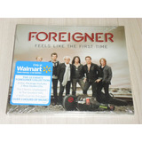 Box Foreigner   Feels Like The First Time 2011  2 Cds   Dvd