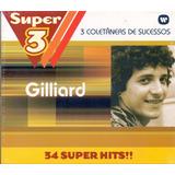 Box Gilliard   3 Coletâneas De Sucessos 34 Super Hits   Novo