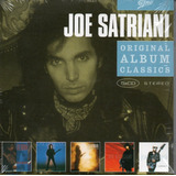 Box Joe Satriani   Com 5 Cds Stereo