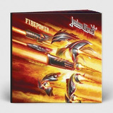 Box Judas Priest   Firepower  alemão Digibook Alto relevo