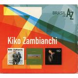 Box Kiko Zambianchi   Brazil De A A Z   Cd   3 Cds