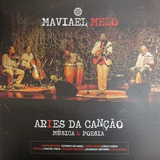 Box Lp Cd Dvd   Livro Maviael Melo Part Xangai Maciel Melo