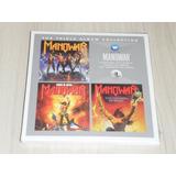 Box Manowar   Triple Album Collection Fighting Kings Triumph