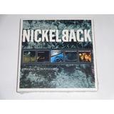 Box Nickelback Original Series 5 Cds Lacrado